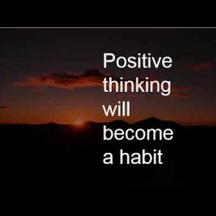 Positive Thinking as  a Mindset Trait of  a Entrepreneur