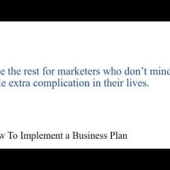 how to implement your business page and